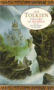GILDED 1993 Edition --- LOTR --- BOOKS ONE and TWO!!!