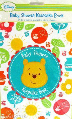 baby shower keepsake book ebay