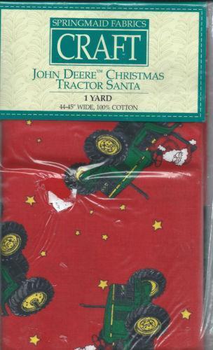 John Deere Tractor Fabric Ebay