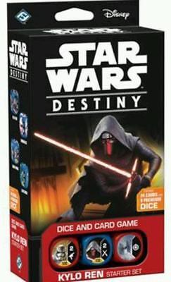 Kylo Ren Starter Set Star Wars Destiny Awakening CCG FFG In Hand