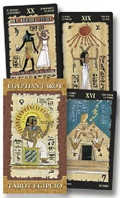 Egyptian Tarot Deck Cards Wiccan Pagan Metaphysical
