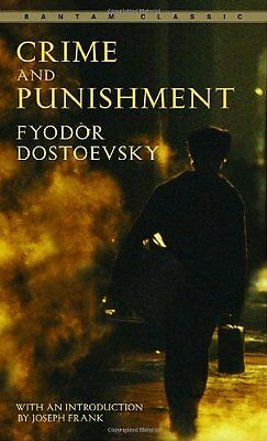 Crime And Punishment  Bantam Classics  By Fyodor Dostoevsky