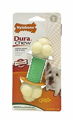 Nylabone Dura Chew Regular Bacon Flavored Double Action Bone