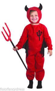 Diablo-Rojo-Demonio-Infantil-Disfraz-de-Halloween-Edad-2-3