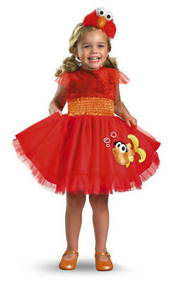 Girls Sesame Street Elmo Dress Infant/Toddler Costume - Infant Sesame Street Costumes