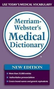 Merriam Webster S Medical Dictionary 2006 Paperback Brand New