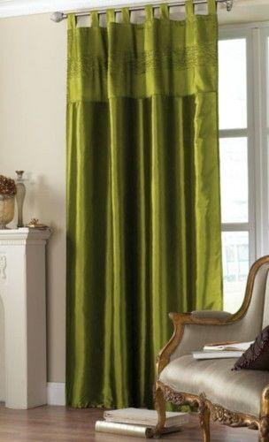 Olive Green Curtains Ebay