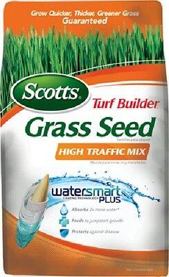 (2) bags Scotts 18277  7 lb Turf Builder High Traffic Grass Seed Mix