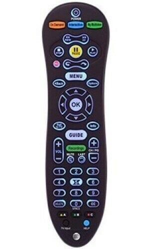 New At&t U-verse S30-s1b Programmable Tv Standard Remote Control Backlit