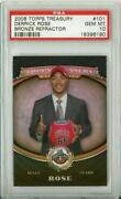 Derrick Rose Topps Treasury