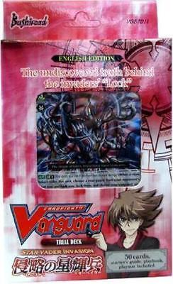 Cardfight Vanguard Vge Td11 Star Vader Invasion English Trial Deck