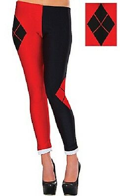 Harley Quinn Party Supplies (Suicide Squad Harley Quinn Leggings  ADULT)