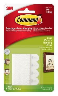 3M Command Small Picture Hanging Strips (17202-ES) - 4 pairs