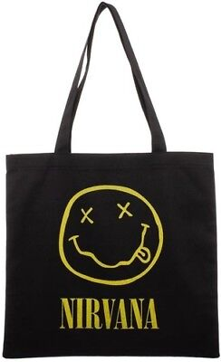 Nirvana Logo Canvas Tote Bag