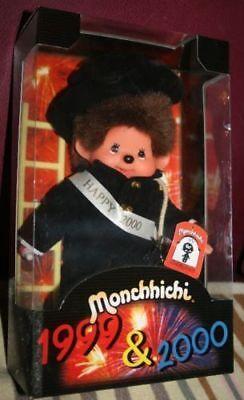 Sekiguchi MONCHHICHI Millenium Edition Monchichi ***RARITÄT*** OVP für Sammler**