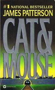 Cat and Mouse paperback book-James Patterson