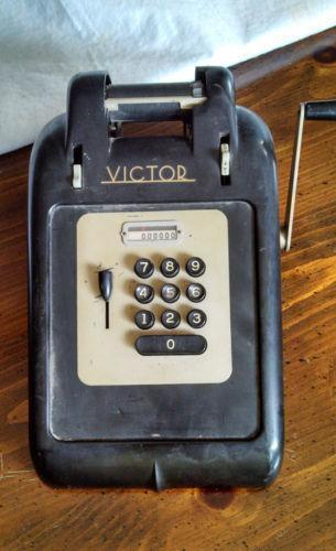 victor adding machine serial numbers