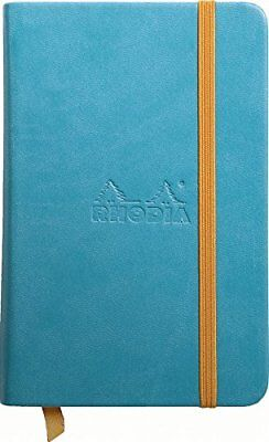 Rhodia Rhodiarama Webbies - Notebook - Turquoise - Lined - 3.5 X 5.5 - R118747