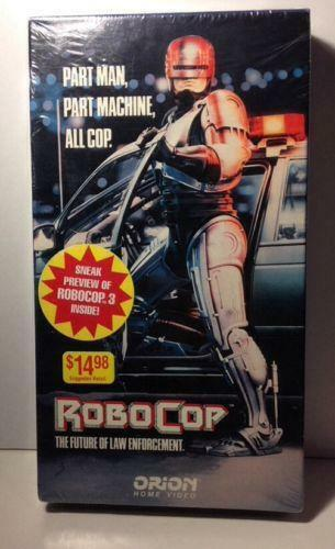 Sell Vhs Tapes >> Robocop VHS | eBay