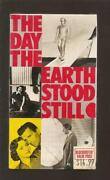 The Day The Earth Stood Still VHS