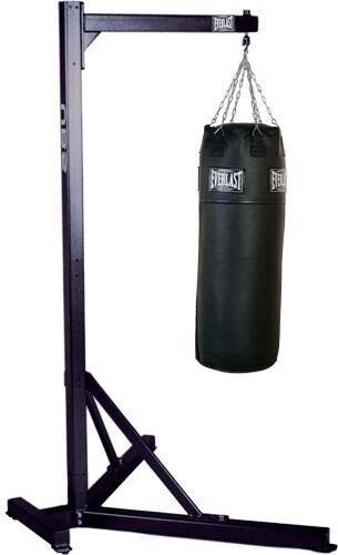 Boxing Kick Punch Punching Bag Heavy 75lb Tko Total Knock Out With Free Metal Frame Stand