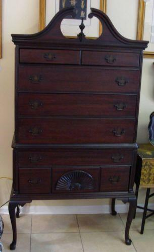 Queen Anne Highboy Furniture Ebay
