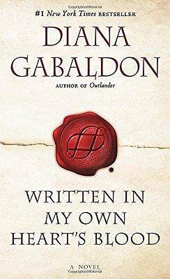 Written in My Own Heart's Blood (#8 of the Outlander Series) by Diana Gabaldon!