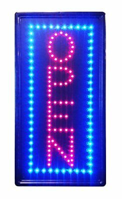 Led Neon Sign Vertical Open Advertisement Board Electric Display Sign Two Mod...