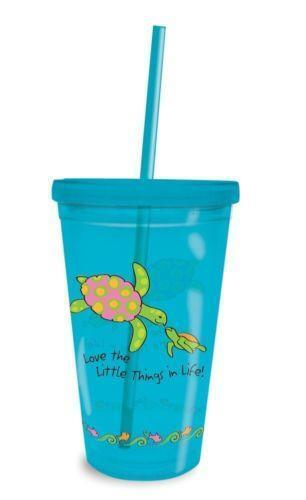 Plastic Cup With Straw Ebay