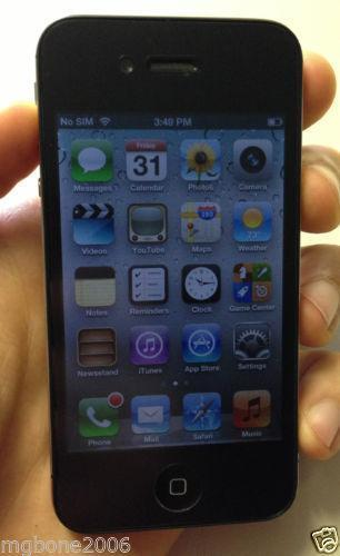 ebay refurbished iphone iphone 4 32gb unlocked used ebay 10535