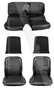 mustang ou shelby 1967 fastback kit de seat cover neuf deluxe