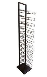 12 Tier Baseball Cap Hat Rack Floor Stand - Cap Tower Display