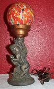 Spelter Lamp