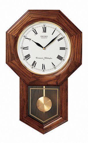 Seiko Pendulum Wall Clock Ebay