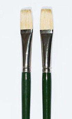 German Made Hog Hair Oil paint Brush Size 7 List $10.00 NOW $2.00 ea