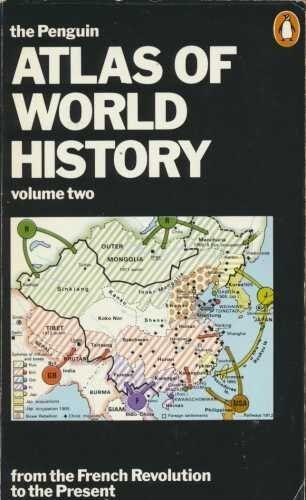 The Penguin Atlas of World History: v. 2 (Reference Books),Hermann Kinder, Wern