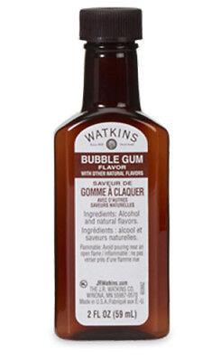 JR Watkins Bubble Gum Extract 2 Fl Oz (Bubble Gum Extract)