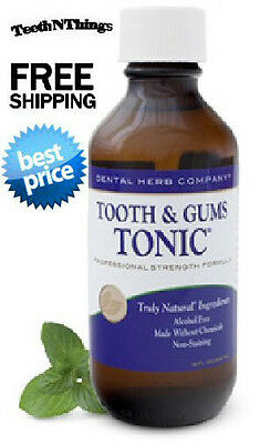 Tooth And Gums Tonic  Dental Herb Company   Travel Size Best Match Free Shipping