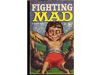 MAD COMIC , boxing BOOK