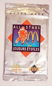McDonald's HOCKEY Packs - 1992-93, 93-94 and 94-95 - Mix & Match