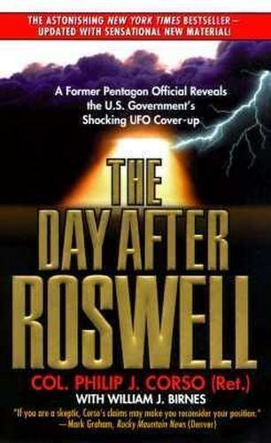 NEW The Day After Roswell By Philip Corso Paperback Free Shipping