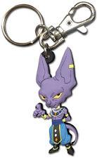 **Legit** Dragon Ball Authentic PVC Keychain God of Destruction Beerus #85464