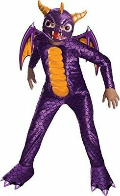 NEW Skylanders: Spyro's Adventure Spyro The Dragon Costume Large 12-14 NO MASK