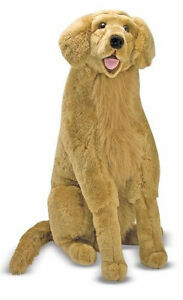 NEW-Melissa-and-Doug-Golden-Retriever-Plush-Stuffed-Animal-Toy-Dog-Labrador
