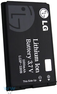NEW LG OEM LGIP-530B BATTERY 3.7V 1100MAH LITHIUM ION