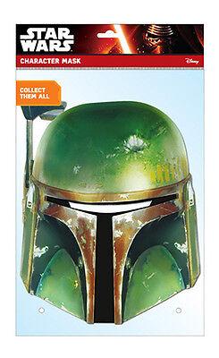 Boba Fett Offizieller Star Wars 2D Karten Party - Fett 2 Kostüm