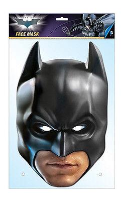 Batman The Dark Knight 2D Karten Party Gesichtsmaske Kostüm Offiziell Dc Comics (Offizielle Dc Comic Kostüme)