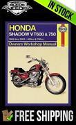 Honda VT750C Manual