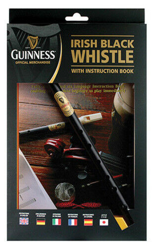 Guinness Whistle and Instruction Book Irish Whistle