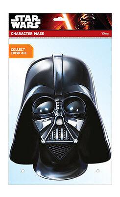 Darth Vader Offizieller Star Wars 2D Karten Party Gesichtsmaske Kostüm Empire